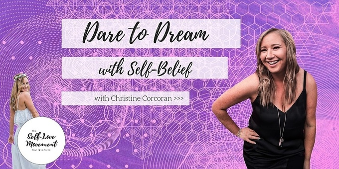 Dare to Dream with Self-Belief // Gold Coast Event Banner