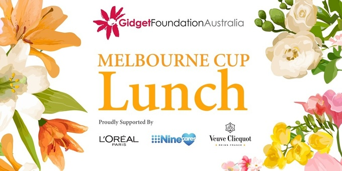 Gidget Foundation Australia Melbourne Cup Lunch 2019 Event Banner