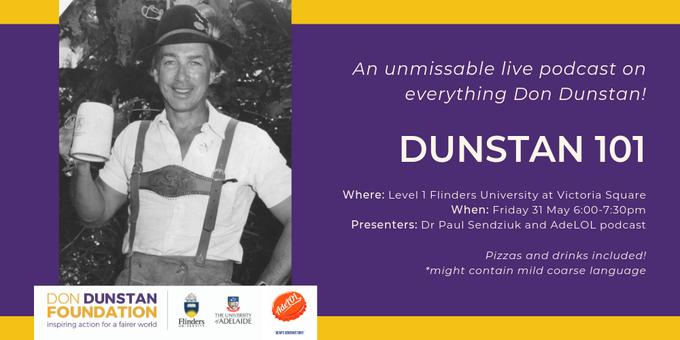Dunstan 101 Event Banner