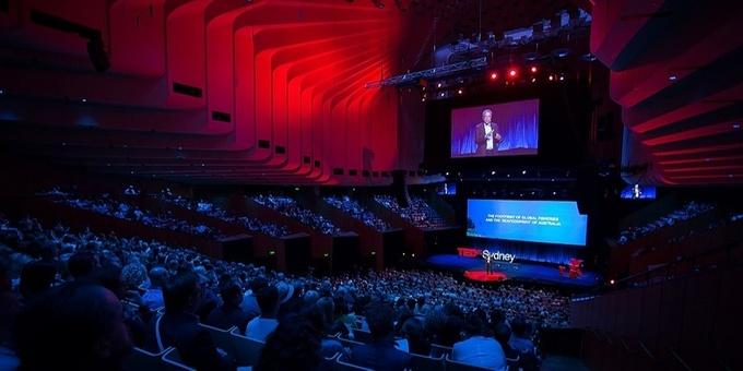 TEDx Sydney - Bega Satellite Live Stream Event Banner