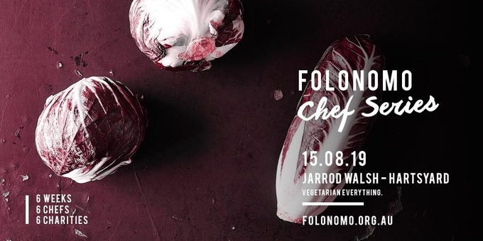 Folonomo Pop-up Chef Series with Jarrod Walsh and Dorothy Lee of Hartsyard Event Banner