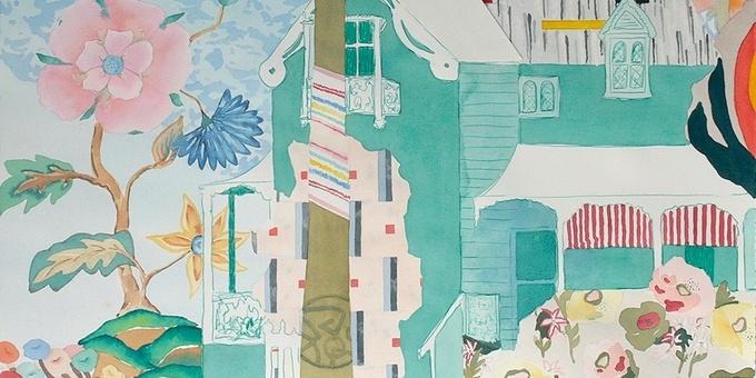Zuza Zochowski - Plein Air Watercolour and Collage Event Banner