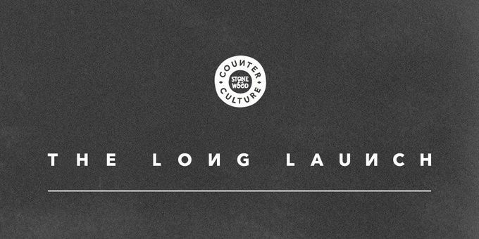 The Long Launch: Counter Culture launch Event Banner