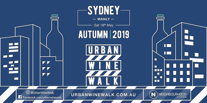Urban Wine Walk Sydney (Manly) Event Banner