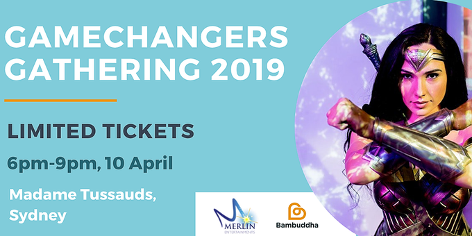 Game Changers Gathering 2019 Event Banner