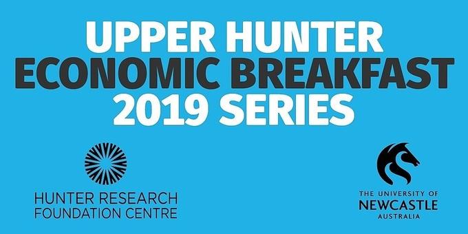 2019 Upper Hunter Economic Breakfast Series - 10 April 2019 Event Banner