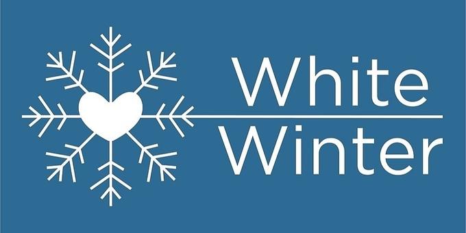 White Winter Event Banner