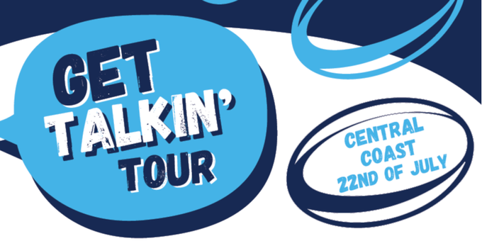 Get Talkin' Tour |  Central Coast Event Banner