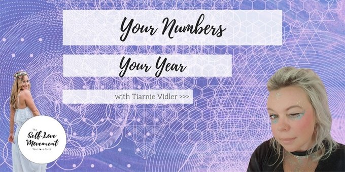 Your Numbers Your Year // Gold Coast Event Banner