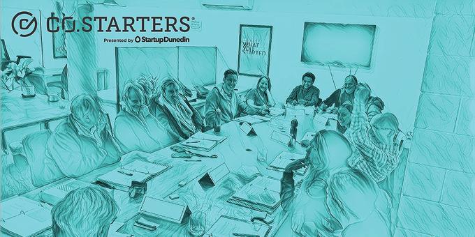 October Co.Starters 2019 - Dunedin Startup Business Course Event Banner