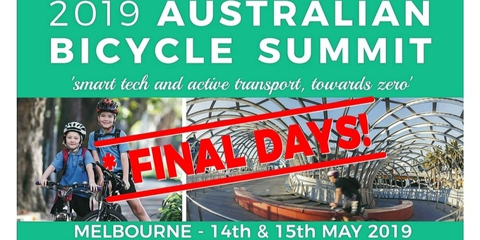 2019 Australian Bicycle Summit Event Banner