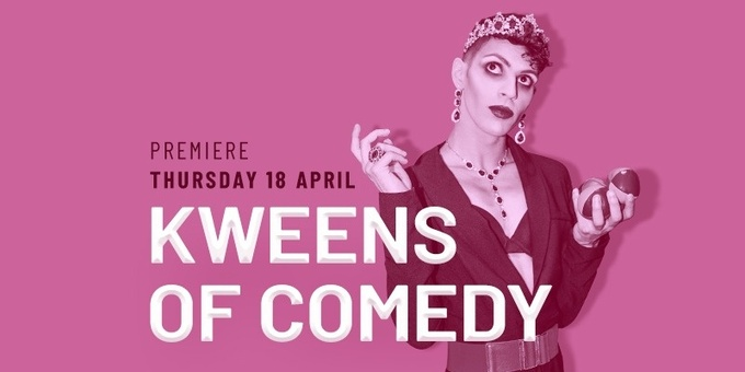 Kweens Of Comedy - 18 April Event Banner
