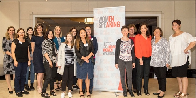 WomenSpeaking - Learn to deliver a great speech in 1 day | Sydney Event Banner