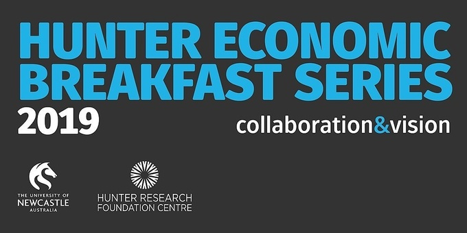 2019 Hunter Economic Breakfast Series - 1 March 2019 Event Banner
