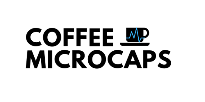 Coffee Microcaps Conference Event Banner