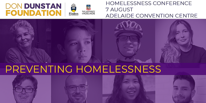 2019 Homelessness Conference Event Banner