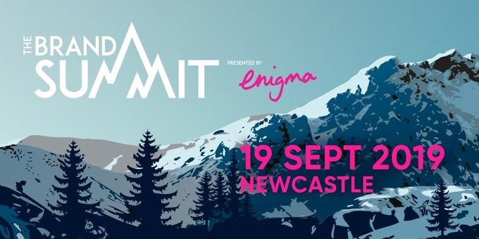 The Brand Summit Newcastle 2019 Event Banner