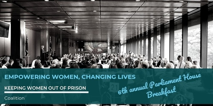 6th Annual Empowering Women, Changing Lives Parliament House Breakfast Event Banner
