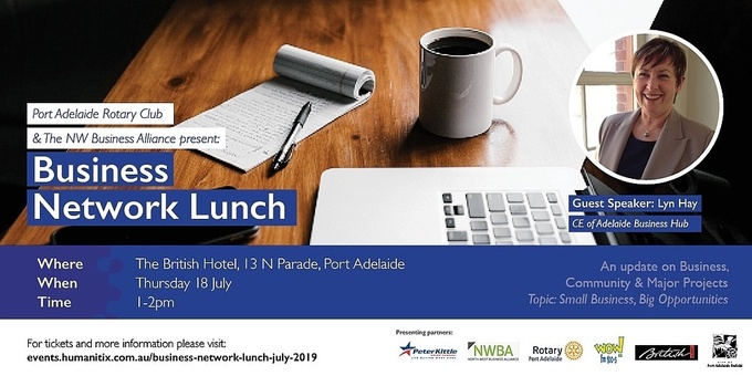 Business Network Lunch-July 2019 Event Banner