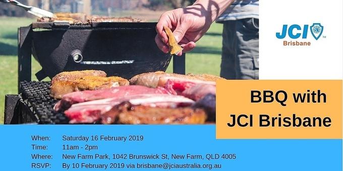 BBQ with JCI Brisbane Event Banner