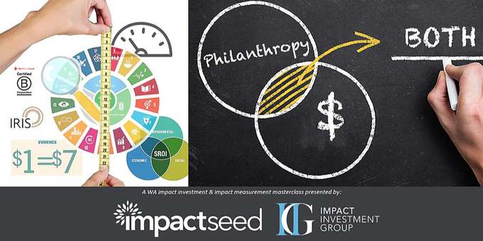 Impact Investment and Impact Measurement Masterclass (WA) Event Banner