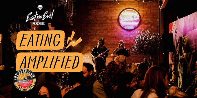 Eating Amplified- On the Road Event Banner