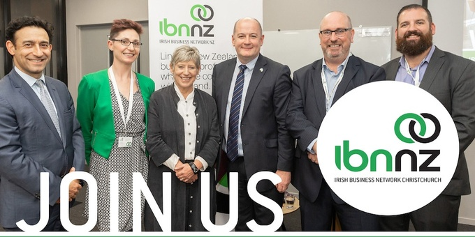 IBNNZ Christchurch Breakfast Event Banner