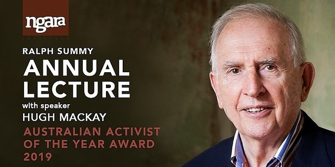ANNUAL LECTURE 2019 Hugh MacKay | Australia Reimagined - A Culture of Compassion Event Banner