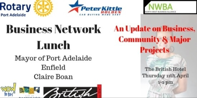 Business Network lunch Event Banner