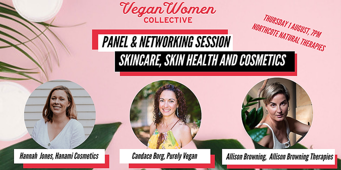 Skincare, skin health and cosmetics - Panel and networking session Event Banner