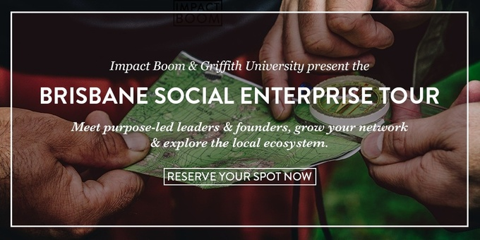 Brisbane Social Enterprise Tour Event Banner