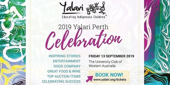 The Yalari Dinner | Perth 2019 Event Banner