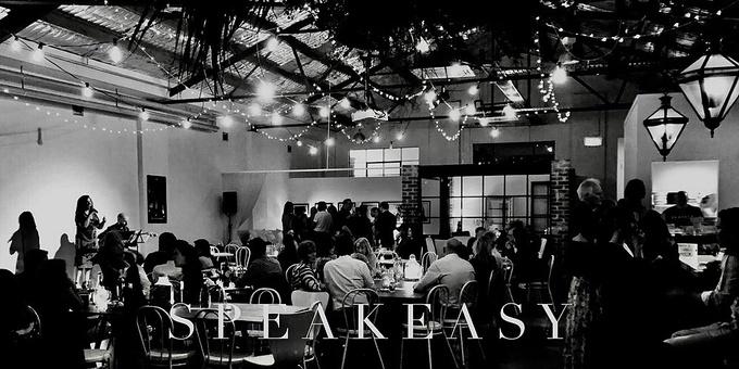Speakeasy Night Event Banner