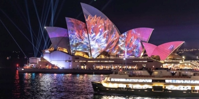 Vivid Charity Cruise Supporting Grameen Australia Event Banner