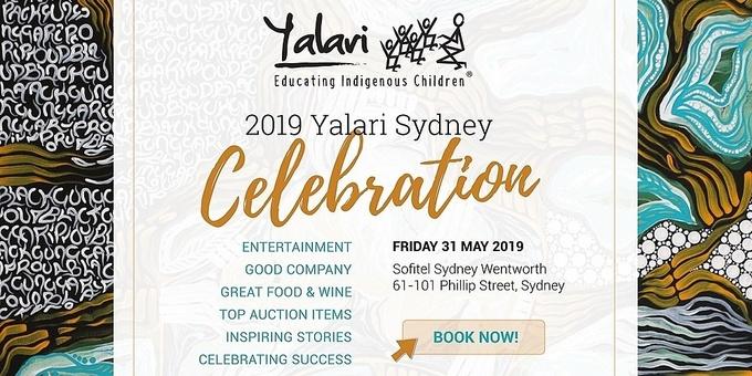 The Yalari Dinner | Sydney 2019 Event Banner