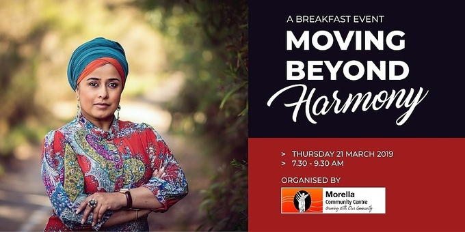 MOVING BEYOND HARMONY  BREAKFAST EVENT Event Banner