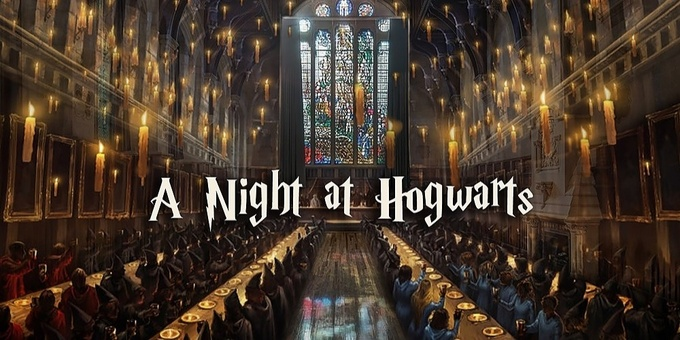 A Night at Hogwarts Event Banner