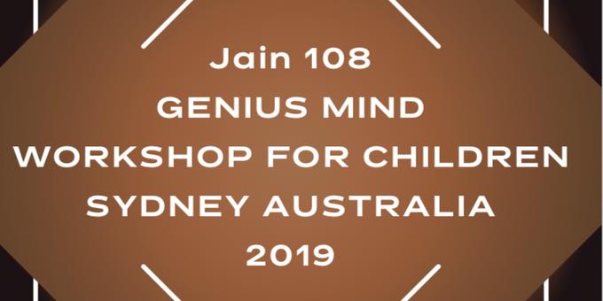Genius Mind Children aged 9 - 12 Event Banner