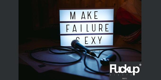 Fuckup Nights Perth - Volume 3 Event Banner