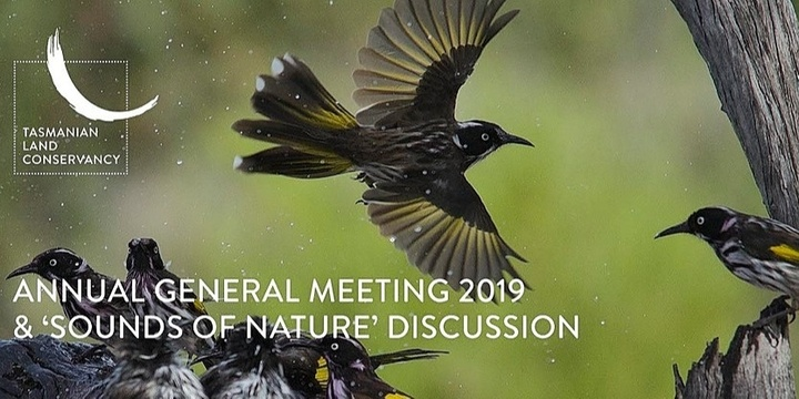 Tasmanian Land Conservancy Annual General Meeting 2019 Event Banner