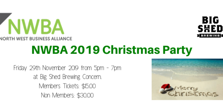NWBA Christmas Networking Event Banner