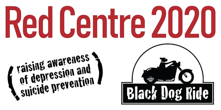 WA Black Dog Ride to the Red Centre 2020 Event Banner