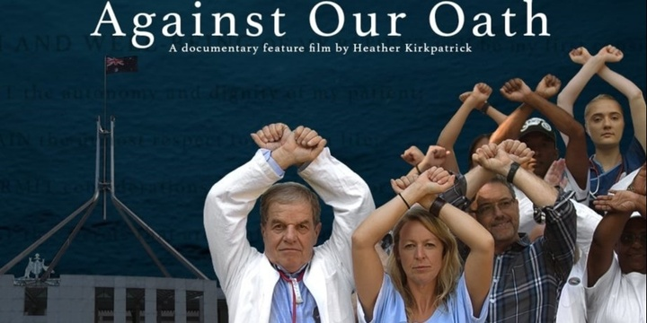 """Against Our Oath"" - film screening Nambour Majestic Cinema + Q&A with Director Event Banner"