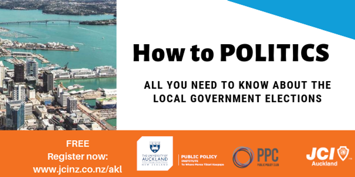 HOW TO Politics: All You Need to Know About Local Elections Event Banner