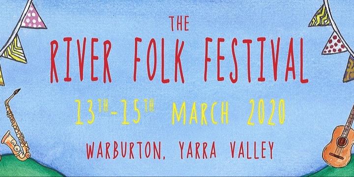 The River Folk Festival 2020 Event Banner