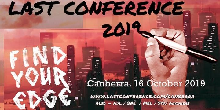 LAST Conference Canberra 2019 Event Banner