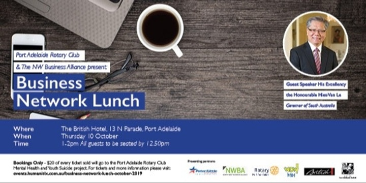 Business Network Lunch - October Event Banner