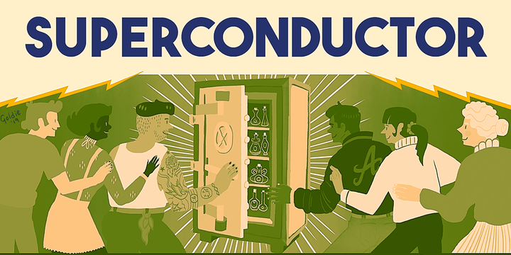 SUPERCONDUCTOR: Escape Room Conference Down Under Event Banner