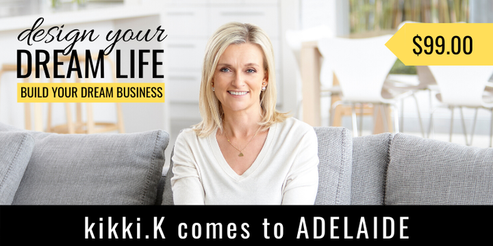 Create Your Dream Life : Build Your Dream Business Event Banner