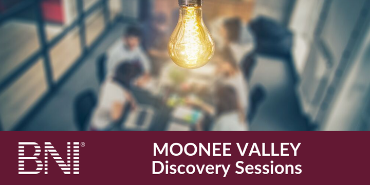 BNI Moonee Valley Discovery Sessions Event Banner